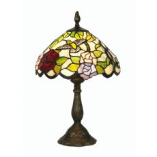 Aspen 1x60w Tiffany Floral 12 Inch Table/Bedside  Lamp - OT 2510/12 TL